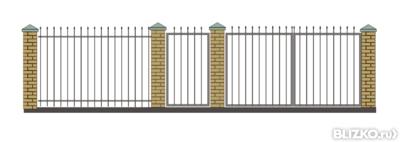 купить ворота для дачи решетчатые