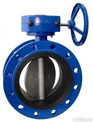 Затвор дисковый поворотный фланцевый ДУ 150 (DN 150)