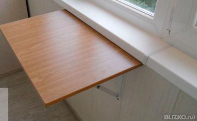 Как сделать стол на балконе своими руками.