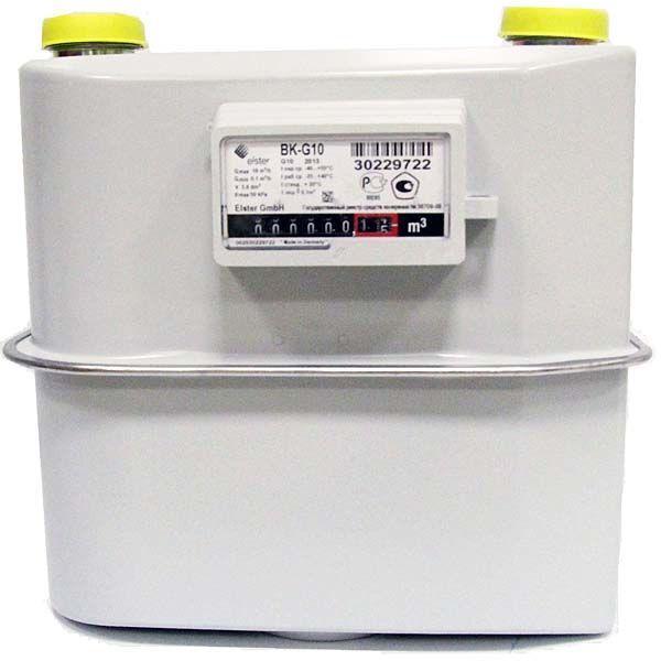 Счетчики газа BK-G10 (Т)*, BK-G16 (Т)*, BK-G25 (Т)*