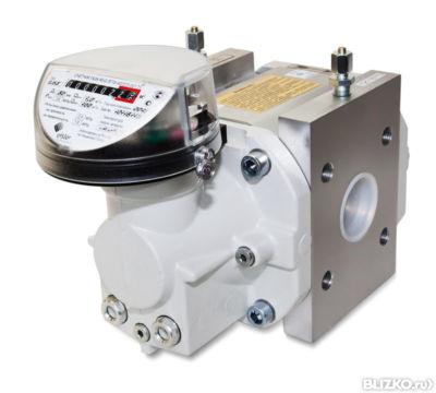 Счетчик газа ротационный RVG G250