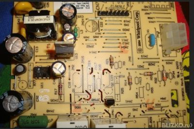 Схема платы управления холодильника whirlpool