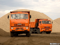 Аренда автомобиля Камаз, 15 тонн 10 куб.м.