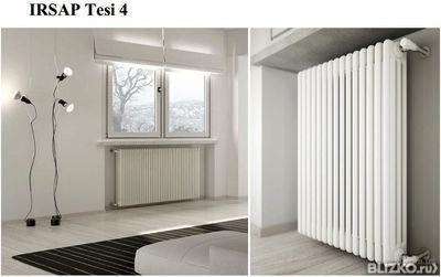 Стальной трубчатый радиатор IRSAP TESI4 2200 (секция) от компании ...