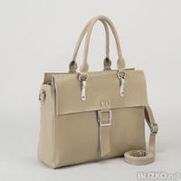 68099eff3797 Сумка женская, отдел с перегородкой, наружный карман, длинный ремень, цвет