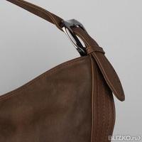 c011fead29c2 Сумка женская, отдел на молнии, наружный карман, цвет коричневый Delicate-A